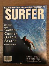 Vintage Surfer Magazine - Know & Powell Costa Rica - Carri Barrel Fest - Feb '93