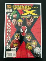 SPIDER-MAN AND X-FACTOR SHADOWGAMES #3 MARVEL COMICS 1994 VF+