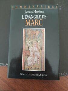 L'ÉVANGILE DE MARC par Jacques HERVIEUX Editions BAYARD/CENTURION