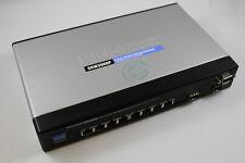 Linksys SRW2008P Business Series 8-port 10/100/1000 Gigabit Switch w/o PwrSupply