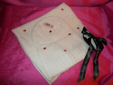 Victorias Secret CHRISTMAS HOLIDAY WINTER WHITE Jeweled Bling Hat &Scarf Set NWT