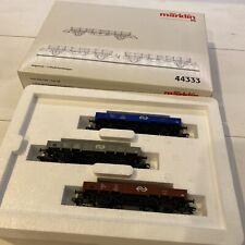 marklin ho freight cars 44333 new in box
