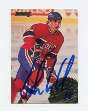 JOHN LECLAIR CANADIENS AUTOGRAPH AUTO 94-95 DONRUSS #98 *57372