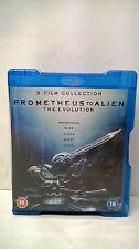 Prometheus to Alien The Evolution (5 Film Collection-  Blu-ray)