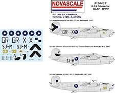 RAAF B-24 Liberator Decals 1/144 Scale N14437