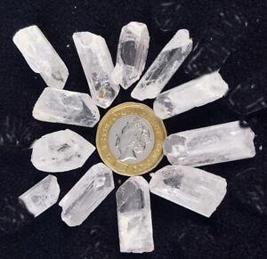 1 Large Singing Quartz Crystal Points Wand Gemstone Sound Healing Chakra