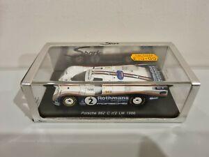 Spark Porsche 962 Lemans 1986 Schuppan 1:43