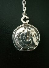 Porte Clés Argent massif 925/1000 Alexandre III Le Grand-Key Chain Solid Silver