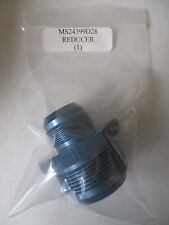 """MS24399D28 Aluminum Blue Tube Reducer Fitting 1 7/8 to 1 5/16"""""""