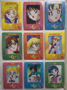 Sailor Moon 2000 Vintage Toei Animation Artbox Film Cards 1-12 ONLY