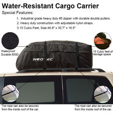 Waterproof Roof Top Cargo Carrier  Travel Car Storage Bag