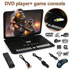 "Portable 13.9"" DVD Player HD CD FM TV Player 16:9 LCD Widescreen Card Reader DP"