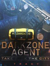 Virtual Toys The Dark Zone Agent Tracy R Ver Hazardous Bag loose 1/6th scale