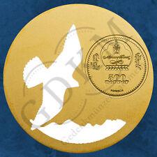 Mongolei - Mongolian Nature 2015 - Falco cherrug - 500 Togrog 2015 PP - Silber