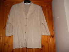 Marks and Spencer Women's Linen Blend Button Other Coats & Jackets