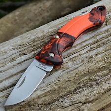 Buck Nano Bantam Mossy Oak Blaze Orange Folding Knife 283CMS9