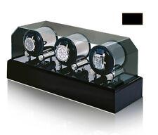 New Top Quality ORBITA Futura 3 Watch Automatic Winder Box AC+DC powered