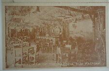 Havana Cuba La Campa Rum Souvenir 2 Fold Souvenir Tourist  Postcard 1940s Recipe