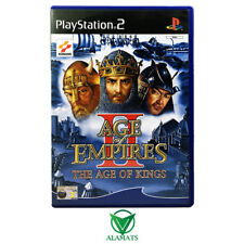 Age Of Empires II 2 The Age Of Kings Playstation 2 (PS2) Very Good