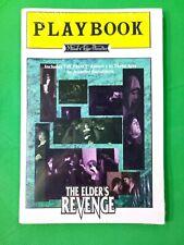 Mind's Eye Theatre Playbook The Elder's Revenge World Of Darkness New Sealed