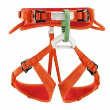 Petzl Macchu Enfants escalade Harness 54-64cm Orange