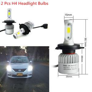 2 x 160W 6000K Car H4 LED HB2 Hi/Lo Beam Driving Fog Light Headlight Waterproof