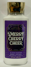 Bath And body Works Merry Cherry Cheer Body Lotion 8 oz / 236ml New