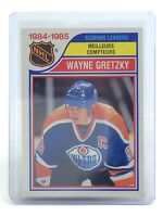 1985-86 Wayne Gretzky #259 Scoring Leaders O-Pee-Chee Ice Hockey Card I010
