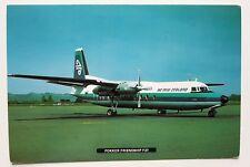 Air New Zealand Fokker Friendship F27 Postcard