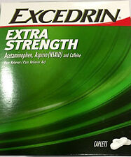 Excedrin Extra Strength Pain Reliever 25 Packets of 2 Capletes
