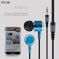 3.5mm In-Ear Headset Earbud Earphone Headphone For iPhone iPod Samsung Phone MP3