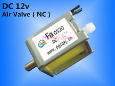 mini Electric Solenoid Valve for Gas Air N/C normally closed  DC 12V