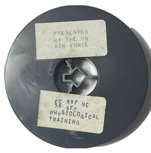 Vtg Reel Canister Air Force Film Physiological Training WWII 16mm EC 897 NC