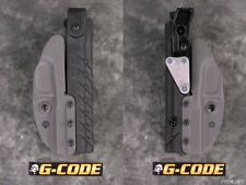NEW G-CODE SOC RIG RTI GLOCK 17 19 22 23 31 32 LEVEL II RETENTION GREY HOLSTER