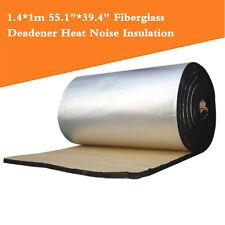 """1.4*1m 55.1""""*39.4"""" Fiberglass Sound Mat Proofing Deadener Heat Noise Insulation"""
