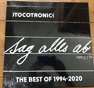 Tocotronic - Limited Vinyl Box - Sag Alles Ab - Best of 1994-2020 (Ltd.) 3LP