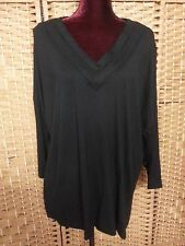 LADIES ROCKMANS BOHO FRILL BACK TOP SIZE XL FIT 18 MAYBE 20