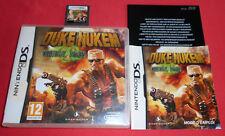 Nintendo DS Duke Nukem Critical Mass [PAL-FRA] 3DS 2DS Super *JRF*