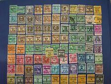 90 Stati Uniti precancel FRANCOBOLLI. diversi, usati, al largo di carta-SNO!
