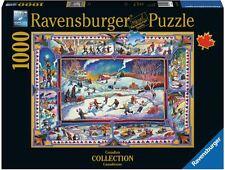 Ravensburger Christmas puzzle * 1000 t * Canadian invierno * navidad * rareza * OVP