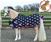 Hy Unicorn Print Lightweight Waterproof Breathable Turnout Pony Rug No Fill 0g