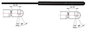 Metzger Tailgate Trunk Gas Spring Strut For DAEWOO CHEVROLET 97-11 96557538