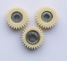 Ersatzzahnräder, 28 zähne, 8mm lager bohrung, 38mm außendurchmesser + Seegeringe