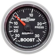 AutoMeter 3603 Sport-Comp II Mechanical Boost/Vacuum Gauge