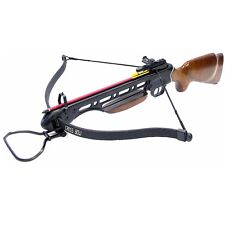 150 lbs Wood Crossbow 8 Arrows & 4x20 Scope