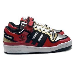 Adidas Forum 84 Low Simpsons Duff Beer Mens Size 7.5 Shoe Red Black Sneaker Rare