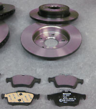 Original Ford Set Bremsscheiben Klötze 1748745 1809259 hinten C-Max, Focus II