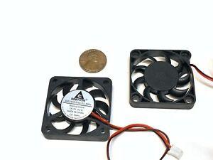 2 Pieces Fan 5v 4007 4cm mini slim small quiet 7mm gdstime 2pin heatsink A36