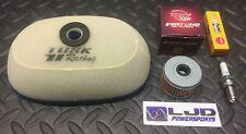 HONDA XR400R 1996–2004 Tusk Tune Up Kit Air & Oil Filter + Spark Plug XR 400R