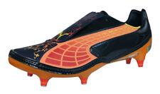 Puma V1.10 Tricks SG Mens Soccer Cleats Football Shoes Grass Studs Black Orange